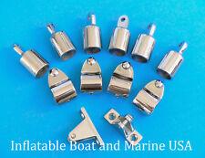 "Bimini Top  Fittings Kit / Set Hardware - 3 Bow- 1"" 316 Marine Stainless Steel"