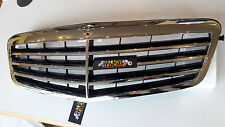 3Mercedes E-Class W212 Sedan / Wagon 09-2013 Front Grill chrome + black