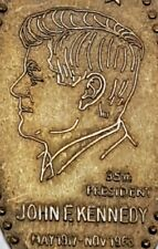 Early Elongated Cent John F. Kennedy Commemorative Early 1960's on 1962 Cent JFK