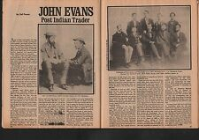 John Evans Post Indian Trader+Cleveland,Traylor,George,Fos,Fisher,Houser,Rabb
