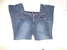 L.E.I. Classic Boot Cut Stretch Girls Blue Jeans - Size 181/2 DEAL!