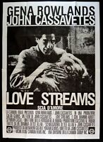 Manifesto Love Streams John Cassavetes Gena Rowlands 1984 M256