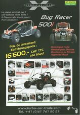 PGO BUG RACER 500i Buggy Car (Made in Taiwan) _ 2009 Prospectus/Brochure