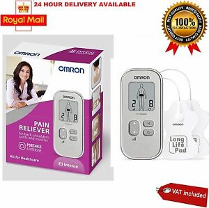 Omron E3 Intense Portable TENS Pain Reliever Long Life Pads