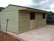 12 x 24 stable block ,timber stables, Stable block, AB016
