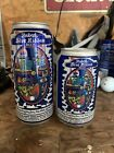 2 PABST BLUE RIBBON COLLECTORS SERIES BEER CANS