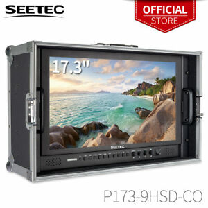 """Seetec P173-9HSD-CO 17.3"""" IPS 3G-SDI HDMI Carry-on Broadcast Monitor w Suitcase"""