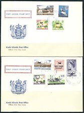 Cook Is. Stamps C1-9  SG 185-93 FDCs First Airs VF 22APR1966 SGCV 32BP+