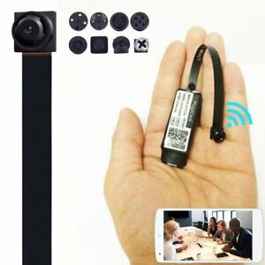 HD Mini Spy Nanny Camera Wireless Wifi IP Pinhole DIY Hidden Video DVR NVR cam