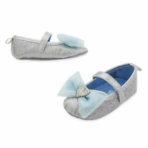 NWT Disney Store Cinderella Baby Costume Shoes Princess 0 6 M 6 12 18 24 Months
