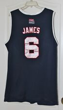 Lebron James Origninal USA Dream Team Authentic Nike Jersey XXL