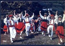CPA France Basque Costume Folk Folklore Tracht Trachten Traditional Folklor 57