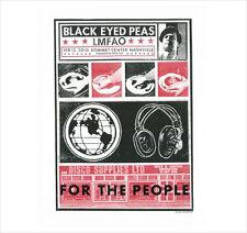 BLACK EYED PEAS (FERGIE) LMFAO 2010 RARE SILKSCREEN GIG POSTER S/N BY ARTIST