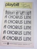 Playbill Orig  A Chorus Line, Shubert Lucie Arnaz Signed COA Lucille