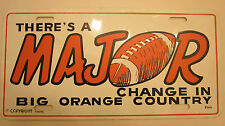 University of Tennessee-vintage-There is a MAJOR Change in Big Orange Country
