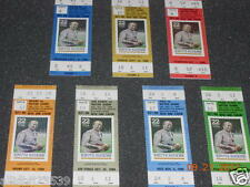 NOTRE DAME 1988 UNUSED SET OF 7 TICKETS - RARE - LIMITED