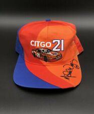 Vintage Michael Waltrip #21 Citgo Racing Team Adjustable Hat NASCAR Race Cap