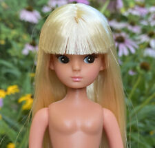 Blonde Licca Chan Doll 20th Anniversary Licca Castle Takara Tanned Repro Reprint