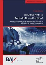 Windfall Profit in Portfolio Diversification? : An Empirical Analysis of the...