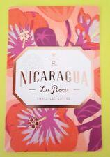 STARBUCKS 2016 - Series Reserve Tasting Card NICARAGUA LA ROCA - NEW (ID#37)