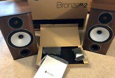 Monitor Audio Bronze BX2 Walnut Speakers