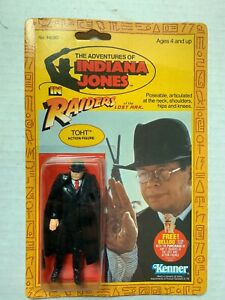 "VINTAGE - Indiana Jones TOHT -ROTLA POP Typo ""THOT""- Kenner 1982 MOC"
