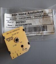 New Oem Bosch Range 962207 Potentiometer for Sgsx Cooktops