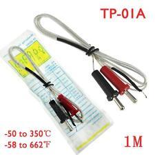 Tp 01a K Type Thermocouple Probe Temperature Sensor Wire Lead 50c To 350c 1m