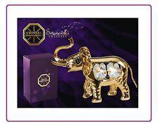 3614 Elephant Elephant Swarovski crystal 24k Real Gold Plated Spectra Crystal