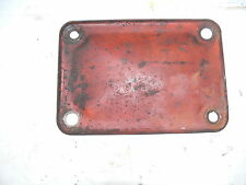 CASE SC TRACTOR CLUTCH HAND HOLE COVER  # 01962AB