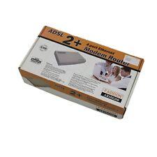 AddOn arm8200 ADSL 2+ 4 Port Ethernet Modem Router-NEU & Garantie