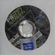 Original ASUS placa madre controlador CD DVD p8h77-v le Windows XP 7 vista pegatinas