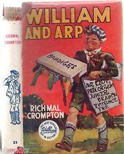 Vintage WILLIAM AND A.R.P. - RICHMAL CROMPTON (HCDJ; 1st Aust.Edition; 1952)