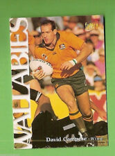 1996 RUGBY UNION  CARD #4 DAVID CAMPESE, WALLABIES