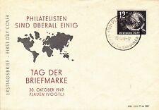 DDR FDC 245 Tag der Briefmarke, Plauen !