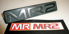 Toyota MR2 MK2 SW20 Rear Badge Silver  - Mr MR2 Used Parts 1989-1993