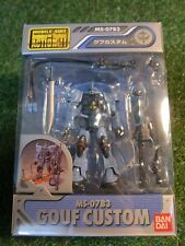 MOBILE SUIT GUNDAM MS IN ACTION Gouf custom v (japan import) by BANDAI