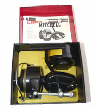 Garcia Mitchell 300 vintage spinning reel,super cond+box + papers+ spool