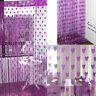 Heart Line Tassel String Door Curtain Window Room Divider Curtain Valance