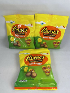 3x Reeses Peanut Better Creme Mini Eggs 70g Bags Easter Gift Dated 08/21