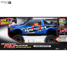 New Bright Rc 1:6 Scale Ford Raptor Truck, Blue New Best