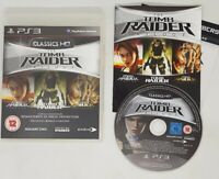 The Tomb Raider Trilogy - Classics HD for PS3 VGC FAST FREE UK POST