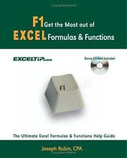 Get the Most Out of F1 Excel Formulas and Functions with CD: The Ultimate Excel.