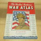 Vintage 1942 The United Nations War Atlas / Maps Of World War II