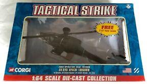 CORGI TACTICAL STRIKE 1:64 HUGHES AH-64D LONGBOW APACHE US ARMY 2003 US95132