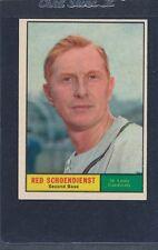 1961 Topps #505 Red Schoendienst Cardinals EX 61T505-21316-7