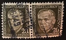 Leonardville, KS Precancel, 20 cents Marshall, Box-type Hand-cancel US #1289