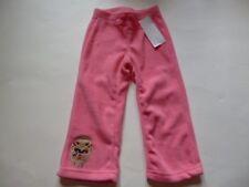 Gymboree Winter Cheer Pink Fleece Pants Gingerbread Man 12-18 18-24 2T NEW