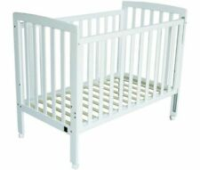 CHILDCARE CAMBRIDGE COT - NEW - WHITE - INCL BRAND NEW MATTRESS - BABY BUNTING