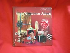 Elvis Presley The Christmas Album Sealed LP RCA Victor AFM1 5486 Promo RARE